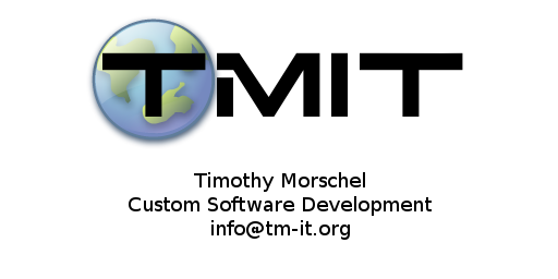 TMIT<br />Timothy Morschel<br />Custom Software Development